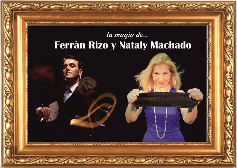 Ferran Rizo y Nataly Machado